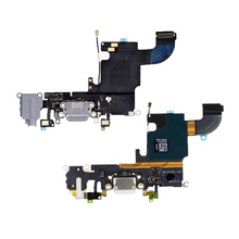 1pcs for iphone 6s 6s plus USB Charging Port Dock Connector Flex Cable  Microphone Headphone Audio Jack Replacement Part