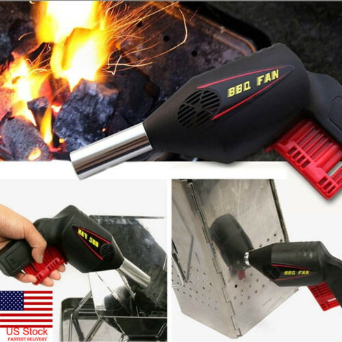 BBQ Accessories New Manual BBQ Fan Air Blower Outdoor Picnic Grill Barbecue Cooking Tools in Other BBQ Tools from Home Garden