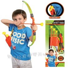 outdoor kids arrow toy Pretty fun with three arrows archery bow and arrow shooting children's sports toys