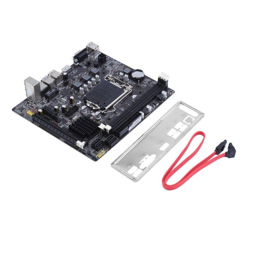 B75 carte mère d'ordinateur de bureau carte mère DDR3 LGA 1155 pour Intel B75 carte mère de bureau accessoires informatiques durables