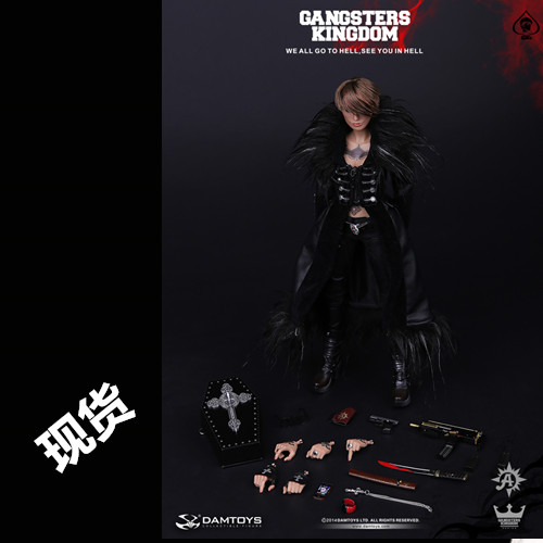 GK008 1/6 <font><b>Gangster</b></font> <font><b>Kingdom</b></font> Spades 6 female killer ADA Wong Collection action figure image