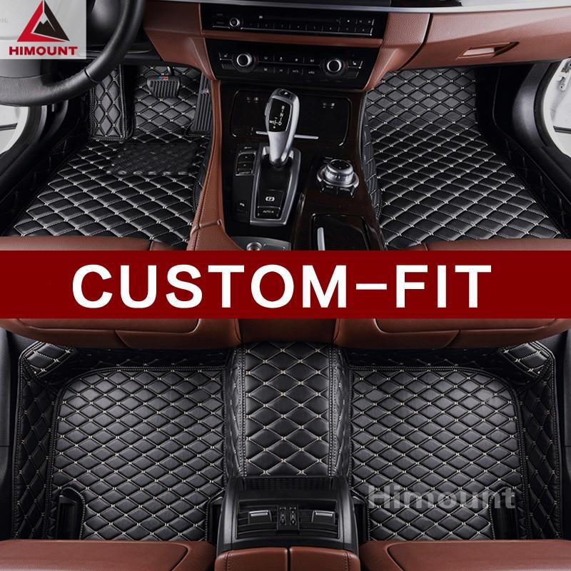 Tapis de sol de voiture personnalisée pour Dodge Journey Caliber Ram 1500 Durango R/T Challenger Avenger Dart Chargeur de luxe tapis doublures