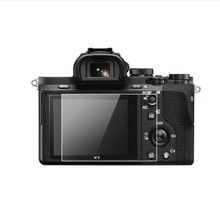 소니 A7 A7R A7S A7K 세대 1 세대 카메라 LCD 디스플레이 화면 보호 필름 보호를위한 강화 유리 보호대 커버