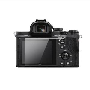Image 1 - Couvercle protecteur en verre trempé pour Sony A7 A7R A7S A7K génération 1th 1st caméra écran daffichage LCD Protection du Film de Protection