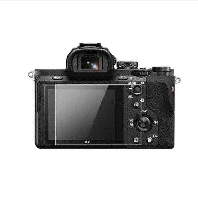 Couvercle protecteur en verre trempé pour Sony A7 A7R A7S A7K génération 1th 1st caméra écran daffichage LCD Protection du Film de Protection