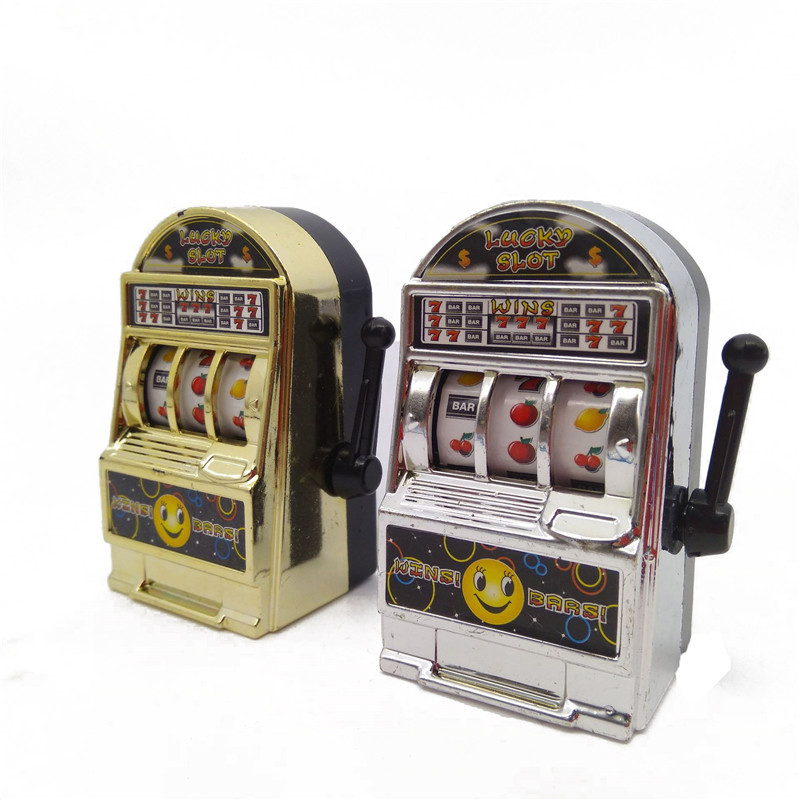 10 Pcs/set New Arrivals Funny Toys Slot Machine Mini Toy Lucky Jackpot For Fun Birthday/Christmas/New Year Gift Kids Safe Toys