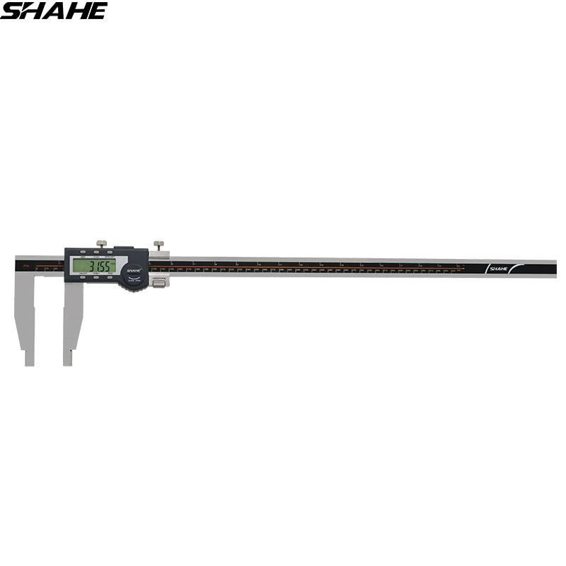SHAHE 600 millimetri Calibro Digitale Pinza In Acciaio Inox Elettronico Compasso A Nonio di Micrometro Strumenti di Misura