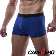 Micro Modal Cuecas Hombre Boxer Ropa interior de hombre Euiropean Transpirable Calzoncillos Ropa interior de bambú Ropa interior de la cintura media