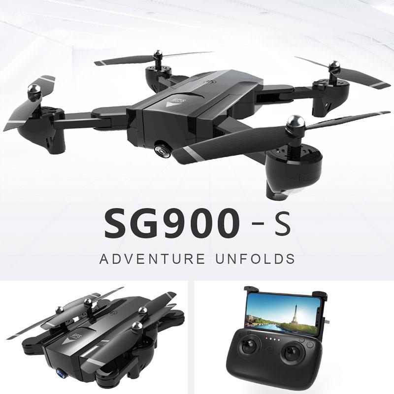 RC Drone Foldable Wifi FPV 720P/1080P Wide Angle HD Camera GPS Positioning Follow Me Function Quadcopter Child Gift 100% original new runcam 2 fpv hd camera av out fpv camera runcam2 1080p 120 angle wifi for walkera qav250 rc racing drone