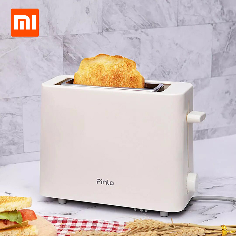 Xiaomi Pinlo 500W Electric Bread Toaster Stainless Steel Bread Baking Maker Machine For Sandwich Reheat Kitchen
