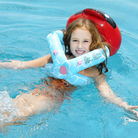 Kids Child Inflatable Floating Swimming Arm Circle Neck Ring New Spider Ladybug Children Aid Float Safety Swimming Pool Training