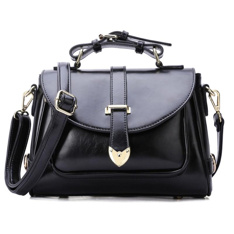 Classic Messenger Bag Belt Buckle Ornament Ladies Sweet Style Crossbody Bag Women PU Leather font b