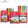 Faber Castell 72/48/36 kolorowe kredki De Cor profesjonaliści malowanie artystyczne kolorowe ołówki do rysowania przybory do szkicowania