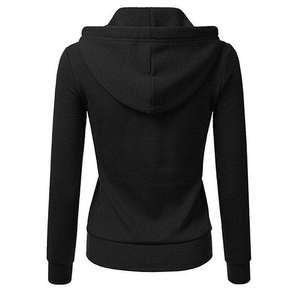 Long Sleeve Solid Hoode 1