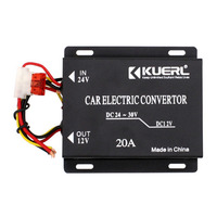 Car Power Converter Adapter 24V To 12V 20A 240W Auto Power Step Down Buck Module Inverter