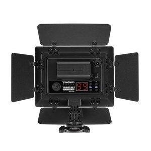 Image 3 - جديد Yongnuo YN300 III YN 300 lIl 3200k 5500K CRI95 كاميرا صور LED الفيديو الضوئي مع التيار المتناوب محول الطاقة