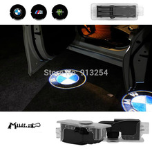 Car Door welcome Light LED Projection Ghost Shadow Light/ 3D Logo Light/LED Laser Lamp special for bmw