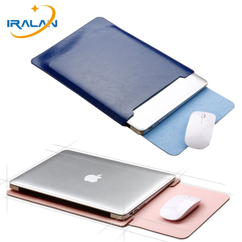mouse pad Laptop Sleeve pu Leather Case for Macbook 11 11.6 12 13 cover Retina Pro 15 15.4 For xiaomi air 12.5 13.3 Notebook bag notebook bag 12 13 3 15 6 inch for macbook air 13 case laptop case sleeve for macbook pro 13 pu leather women 14 inch