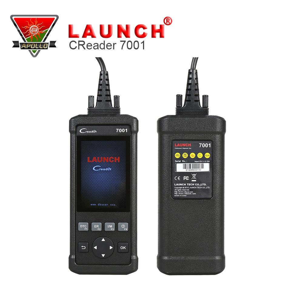 Цена за Launch CReader DIY Диагностический Инструмент Launch CReader 7001 OBD2 Диагностический прибор с Масло Сброс, EPB, BMS, SAS, DPF сброс