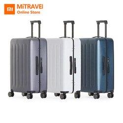 Origiinal Xiaomi Suitcase Luggages 90Fun Brand TSA Lock Spinner Wheel Lightweight Carry On Luggage Case Outdoor Travel 20 24 28