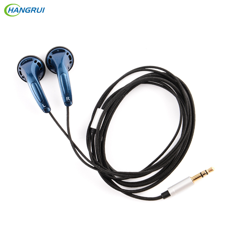 HANGRUI K's K300 Flat Head Plug Earphone 300ohm High Impedance In Ear Headset HIFI Heavy Bass Stereo Kill Monk Earbud For xiaomi 2016 newest auglamour rx 1 in ear earphone flat head plug high quality full metal earbud headset for iphones android mp3 mp4
