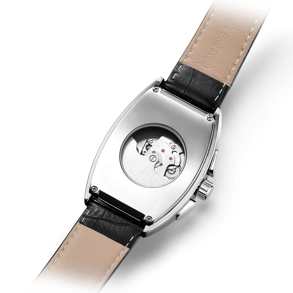 HTB1H6VEXzzuK1Rjy0Fpq6yEpFXa9 SEWOR New Black Gold Tonneau Tourbillon Automatic Mechanical Watch Men Genuine Leather Strap Men Clock Male Men Wristwatches