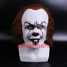 Halloween Pennywise Costume Stephen King IT 2 Scary Clown Man Cosplay Prop Girl Children Toy Trick or treat