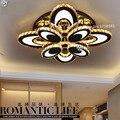 Овальная креативная спальня  современный минималистичный потолочный светильник для гостиной  светодиодные Хрустальные потолочные светил...