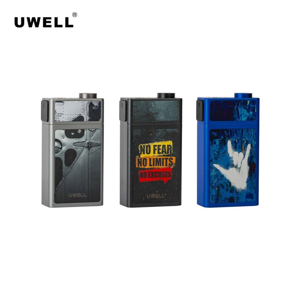 L'uwell Original bloque Squonk Mod 90 W 15 ml étanche par une seule batterie 18650 adaptée à la Cigarette électronique atomiseur 510 fil