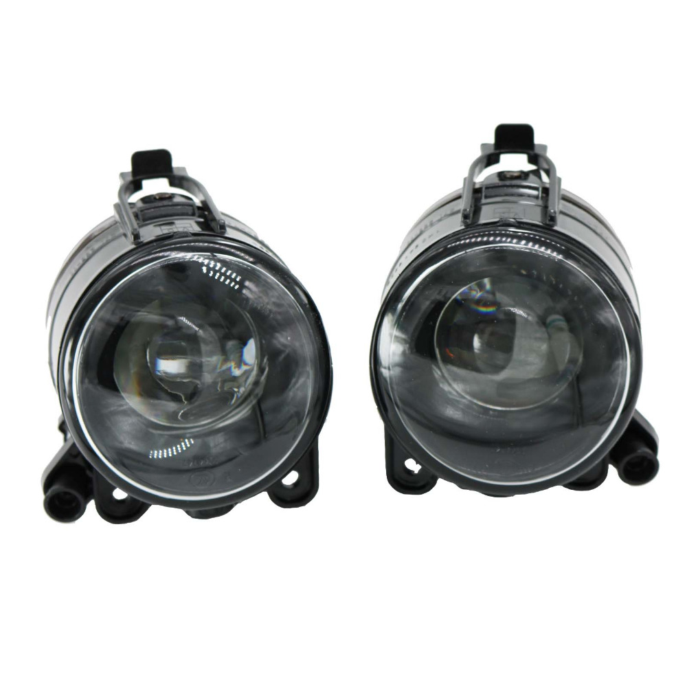2Pcs For VW Golf 5 MK 5 GTI 2004 2005 2006 2007 2008 2009 Front Bumper Halogen Fog Light Fog Lamp With Convex Lens front bumper fog lamp grille led convex lens fog light angel eyes for vw polo 2001 2002 2003 2004 2005 drl car accessory p364