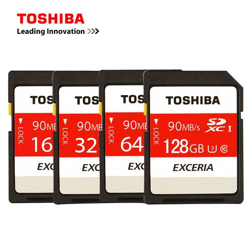 TOSHIBA SD Card 16GB 32GB SDHC 64GB 128GB SDXC UHS-I U3 Memory SD Card Class10 SD Card Flash Memory Card For Camera