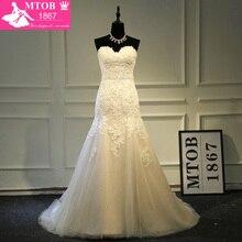 MTOB1867 Designer Sexy Mermaid Lace Wedding Dresses Shiny