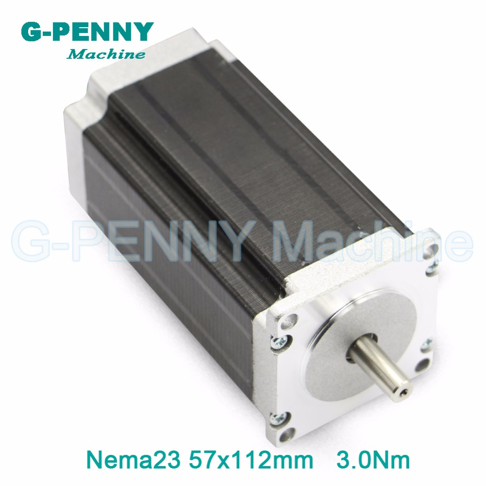NEMA 23 CNC Stepping motor 57x112mm nema23 3N.m stepper motor 3A/4.2A 428Oz-in for 3D printer CNC engraving milling machine