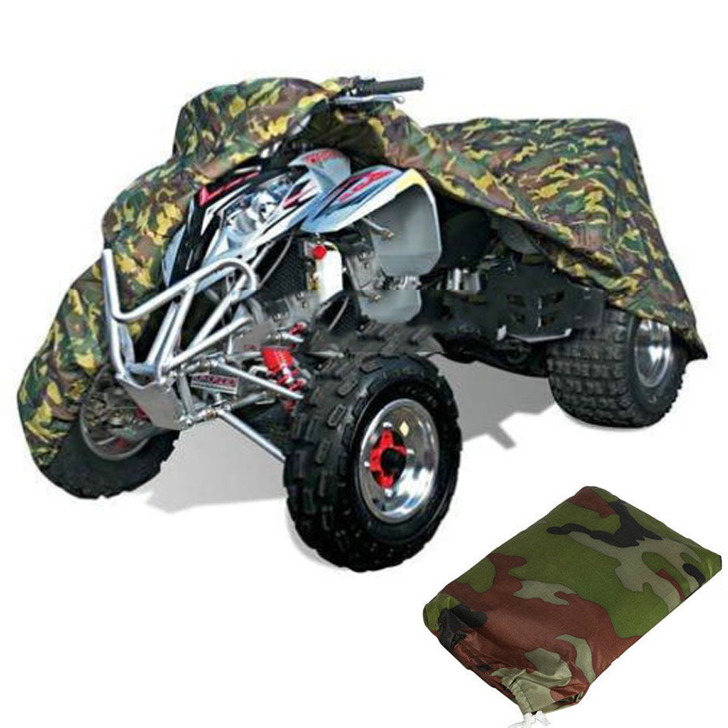 XXXL Camouflage Camo ATV Quad Cover 4-Wheel Waterproof Dustproof Fit for Polaris Magnum Outlaw Sportsman Xplorer Trail Boss ironwalls xxxl atv waterproof cover outdoor protector camo black silver for honda banshee suzuki yamaha raptor quads polaris 3xl