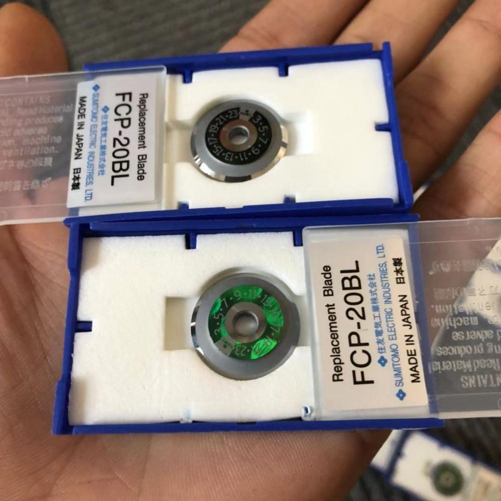 100 Original Sumitomo FC 6 FC 6S Fiber Cleaver Blade FCP 20BL Cutting Wheel Fiber Cleaver