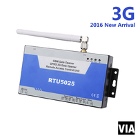RTU5025 3G High Quality GSM Gate Opener,Door opener, Cell switch, Remote Switch On Off By Mobile Phone