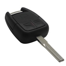 3 Buttons Uncut Blade Car Remote Key Shell Flip Fob For Vauxhall Opel Vectra Astra For