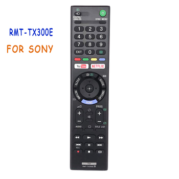 original rmf tx200u for sony voice remote control 4k hdr ultra hd android tv with google play rmf tx200b xbr 55x55ds remoto New RMT-TX300E Remote Control For Sony RMTTX300E LED LCD Bravia Smart TV KDL-43WE750 KDL-43WE753 4K HDR Ultra HD Android TV
