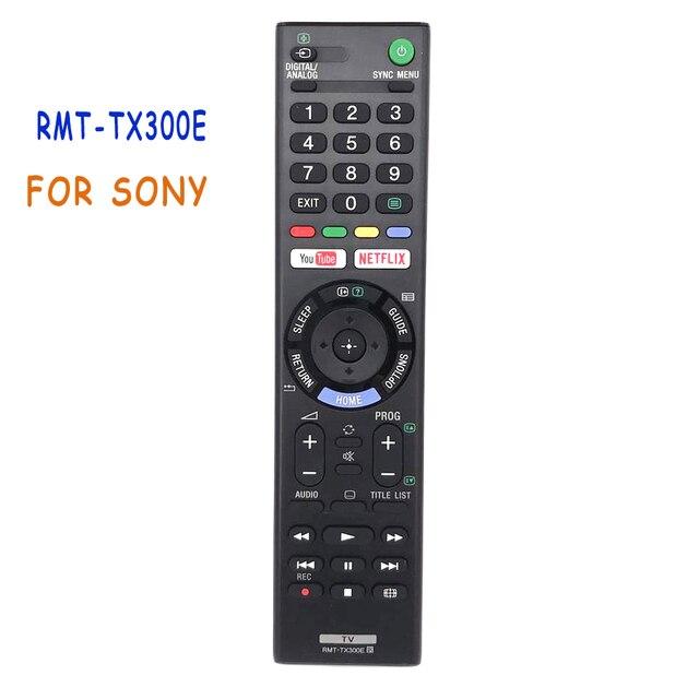 New RMT TX300E Remote Control For Sony RMTTX300E LED LCD