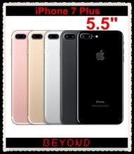 Original Apple iPhone 7 Plus Factory Unlocked Mobile Phone 4G LTE 5.5″ Quad Core A10 Dual 12MP RAM 3GB ROM 32GB/128GB/256GB