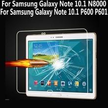 Vidrio templado para Samsung Galaxy Note 10.1 N8000 Protector de Pantalla para Samsung Galaxy Note 10.1 2014 Edición P600 P601 P605