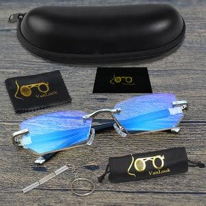 Image 3 - Vanlook 시력 투시를위한 diop터가있는 학위 반사 방지 안경 안경의 무테 안경 + 1 1.5 2 2.5 3 3.5 4