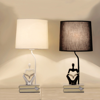 Lámpara de mesa Led Retro Para sala de estar, dormitorio, lectura, escritorio,...