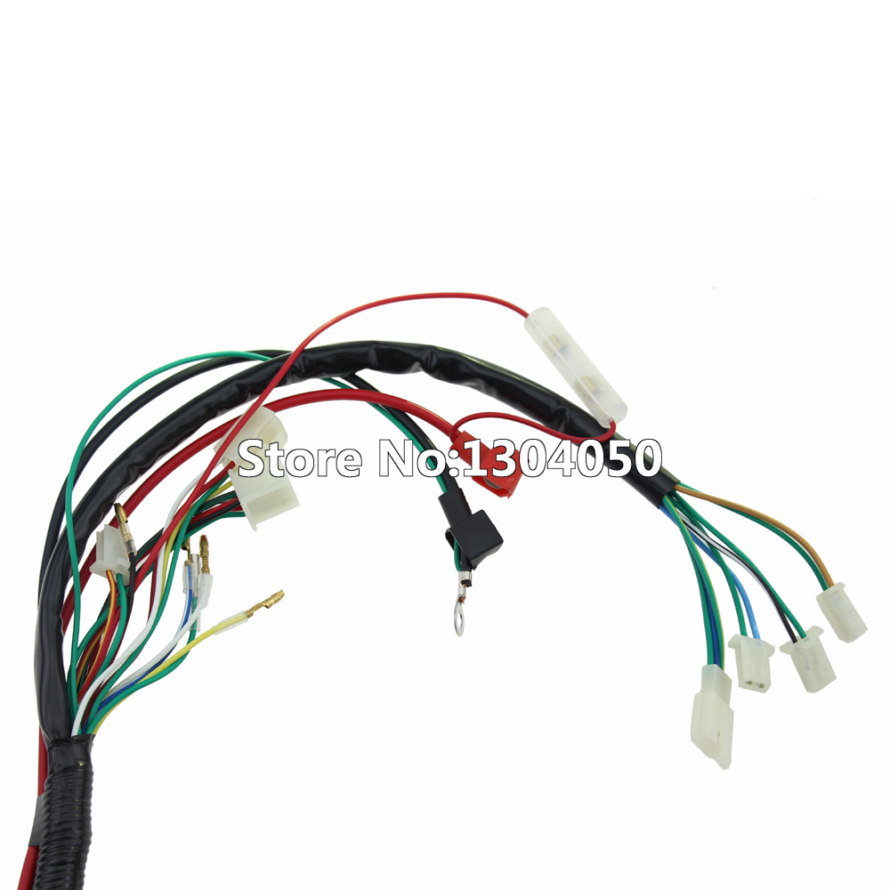 medium resolution of engine wire wiring harness loom 50cc 110cc 125cc 140cc pit atv quad bike buggy go kart in motorbike ingition from automobiles motorcycles on