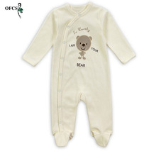 OFCS 3PCS/Lot Spring Autumn Boy Clothing Cotton Baby Girls