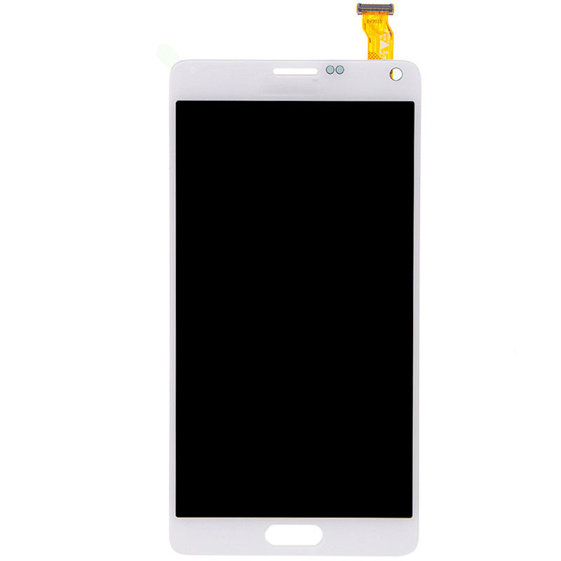 A LCD display Screen Digitizer Glass Assembly For Samsung Note 4 N9100 N9100 N910A N910T Free shipping