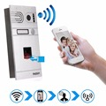 Tmezon Phone Control Fingerprint Wireless Wifi Video Door Phone Intercom 720P HD 1.0MP Outdoor Camera IP Doorphone Onvif