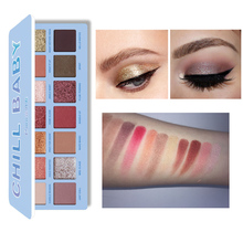 Fashion Outstaning 8 Colors Eyeshadow Palette Makeup Shimmer Matte Deep Eye Shadow Cosmetics For Brown Eyes Brand New