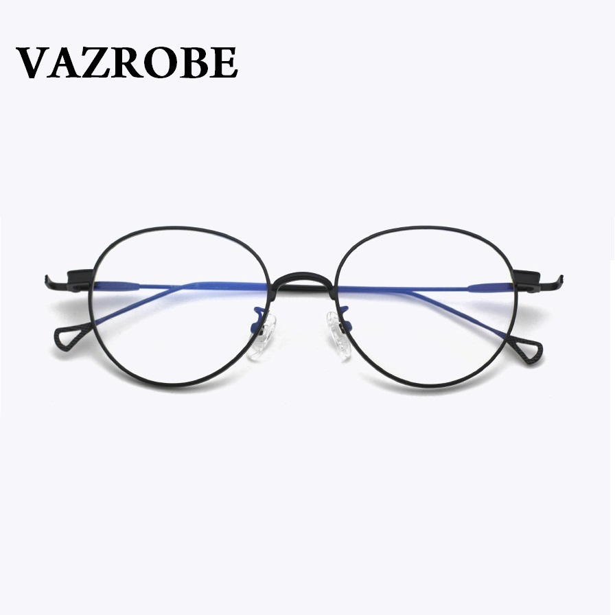 24b9e80f27 Vazrobe Transparent Glasses Women Cat Eye Eyeglasses with Clear Lens(no  Power) Fashion Vintage Eyeglass Female Oval Retro Pink