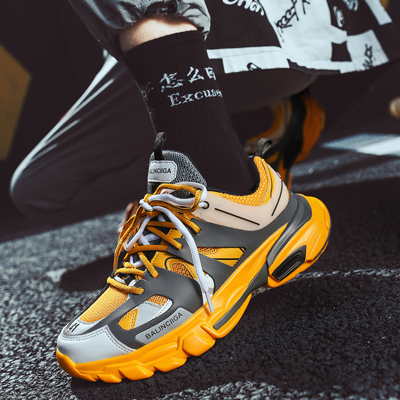 Sneakers For Men Running Shoes Chaussure Homme Spring Design Thick Soles Jogging Fitness Outdoor Sport Shoes Zapatos De Mujer